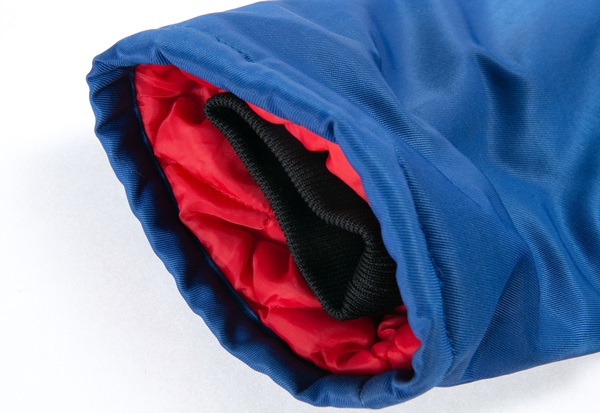 加厚夹棉工装棉袄细节