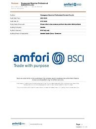 前瞻服饰工作服定制项目更新BSCI证书